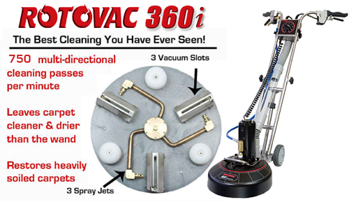 rotovac carpet cleaning Ann Arbor mi